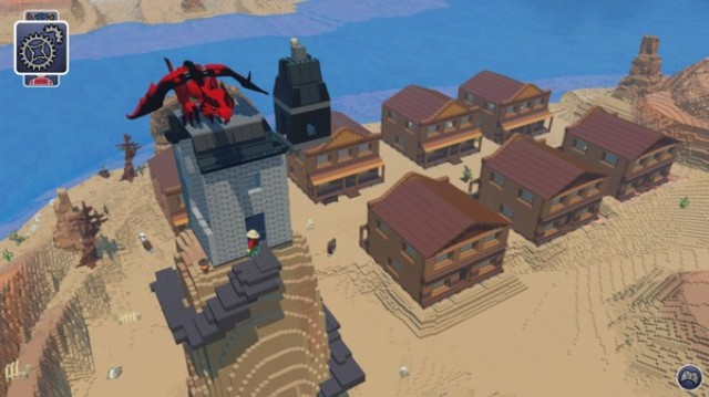 LEGO Worlds PC Games Gameplay