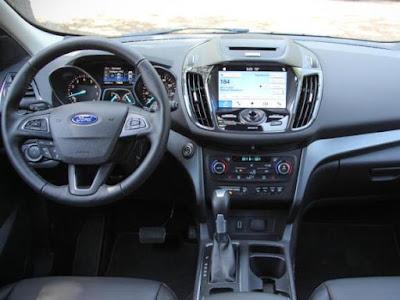 car: ford escape interior