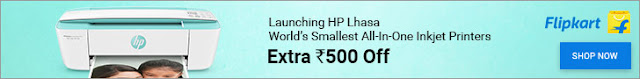 Launching HP Lhasa 3700 series - Extra Rs.500 off | World's Smallest Inkjet All-in-one Printer