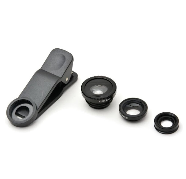 Universal Clip Lens for Mobile Phones