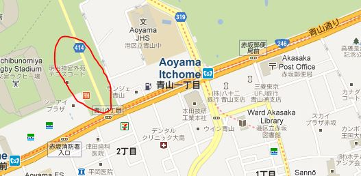 Aoyama Itchome On Subway Map.Life Without Boundaries 逍遥自在 Eat Pray Love Tokyo Trip Day 8