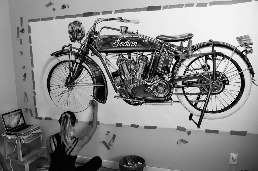 05-Vintage-Indian-Motorcycle-Emily-Copeland-www-designstack-co