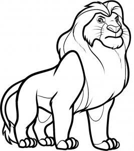 Como Desenhar 10 Como Desenhar Um Leao Passo A Passo