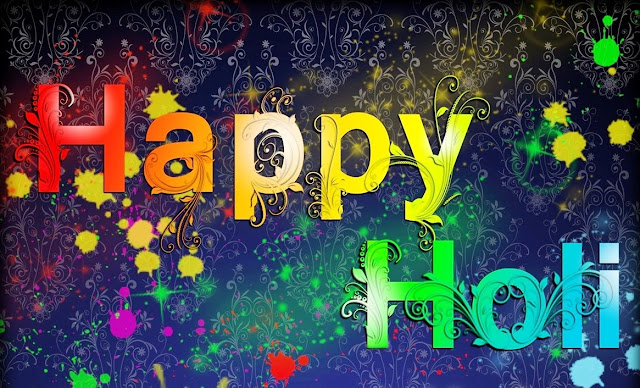 Happy Holi Greeting in English