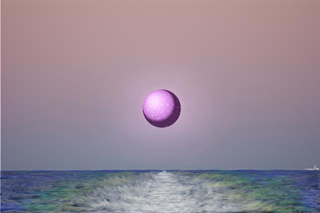 Mar, águas, sussurros, encontro, brincadeiras,lua