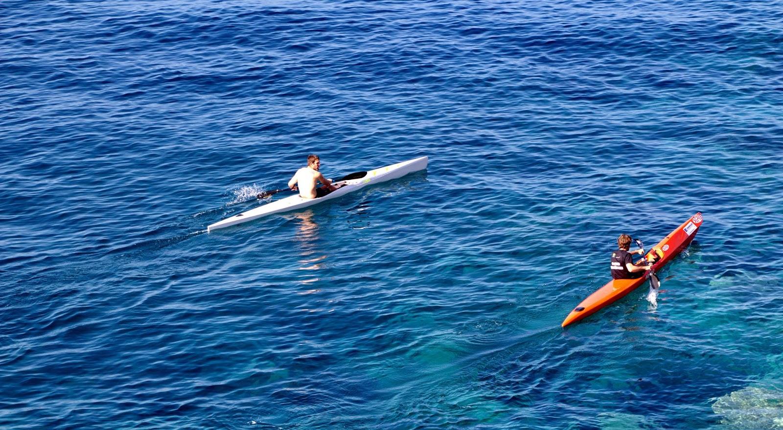 remar no mar tranquilo