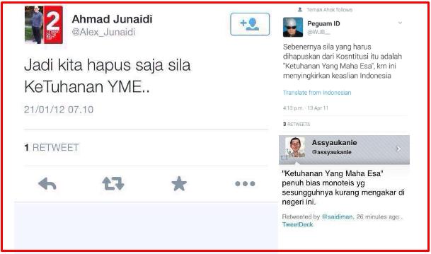 Djarot: PNS yang Tak Sepakat Pancasila Cabut Kewarganegaraannya, Woi.. Ini Pendukung Jokowi Dan Jil Yang Jelas-jelas Merobah Pancasila Segera Dicabut!