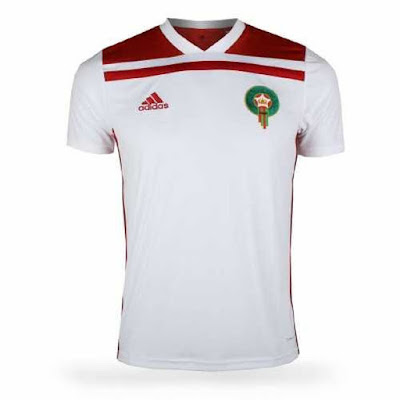 Jersey Maroko New 2018