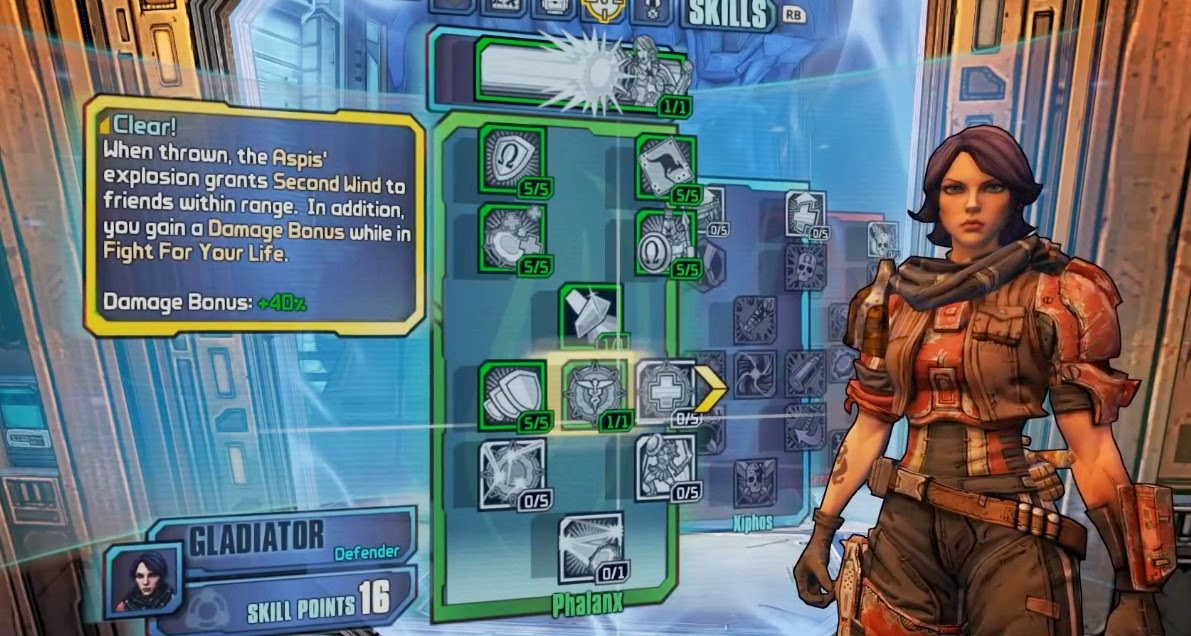 Borderlands: The Pre-Sequel Athena's Gameplay     - Dr Jengo's World