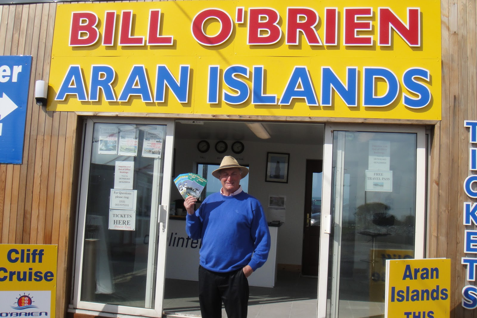 Doolin Ferry Est 1970 Celebrate O Brien Week At Cliffs Of