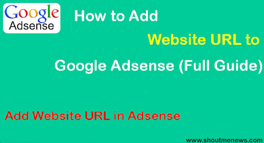 How to Add Website URL to Google Adsense (Full Guide)