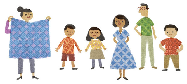 Workshop Batik di Singapura untuk memperingati national batik day