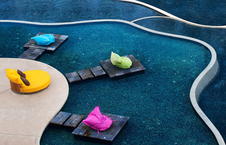 29 Most Amazing Infinity Pools in Pictures - W Retreat & Spa Bali, Seminyak, Bali, Indonesia