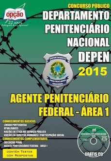 Apostila DEPEN Agente Penitenciário Federal - Área 1