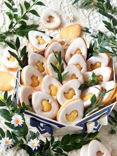 ciasteczka kruche z lukrem, ciasteczka przekladane, krem cytrynowy, wanilia, swieta, moje wypieki, domowe wypieki, smaczna pyza, najsmaczniejsze