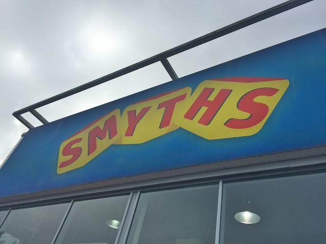 Smyths shop wallsend