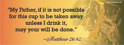 matthew 26:42