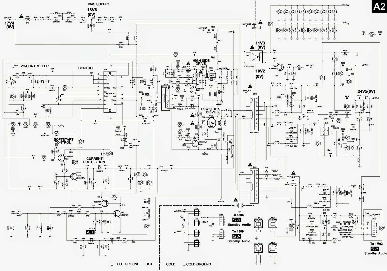 Smps schematic circuit diagram philips 37 inch lcd tvs