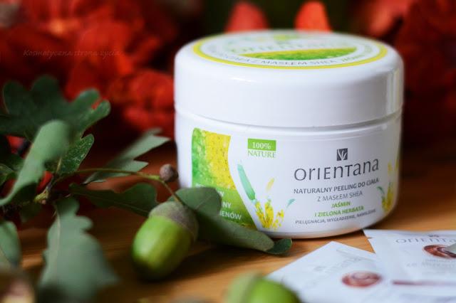 Orientana naturalny peeling do ciała jaśmin i zielona herbata