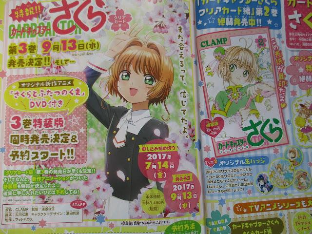 Cardcaptor Sakura: Clear Card-hen #3 terá OAD