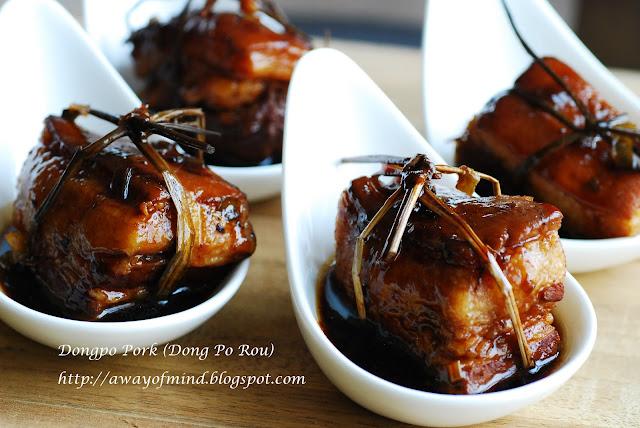 Awayofmind Bakery House: Dongpo Pork (Dong Po Rou 东坡肉)
