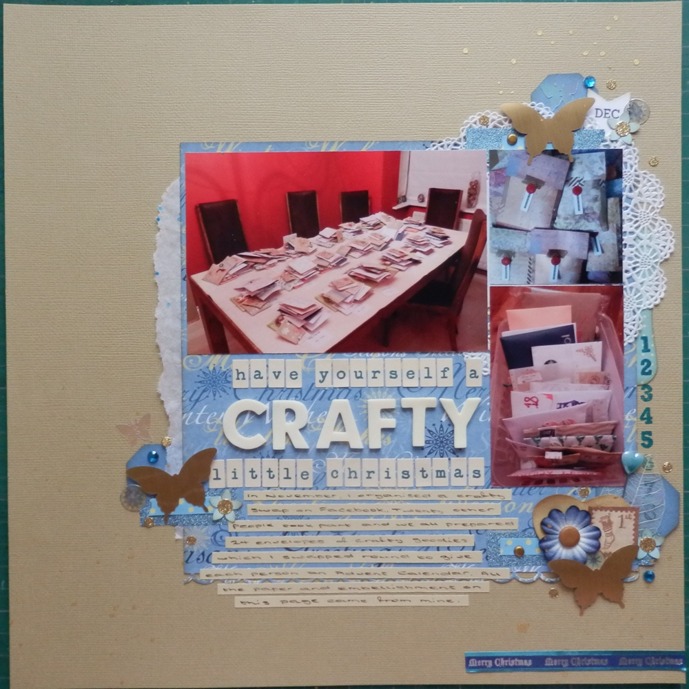 Amanda's Scrapbook Pages: Have Yourself a Crafty Little Christmas