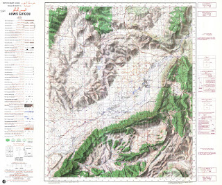 AL  MIS-GUIGOU Morocco 50000 (50k) Topographic map