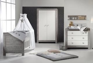 Dormitorio bebe gris