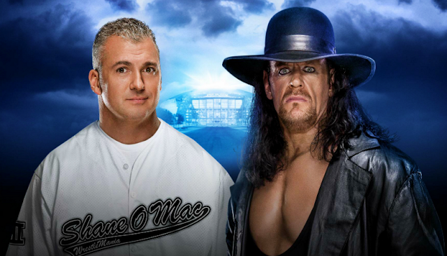 The Undertaker Vs Shane McMahon Wrestlemania 2016