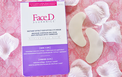 FaceD 3-LURONICS Instant Effect Depuffing Eye Masks