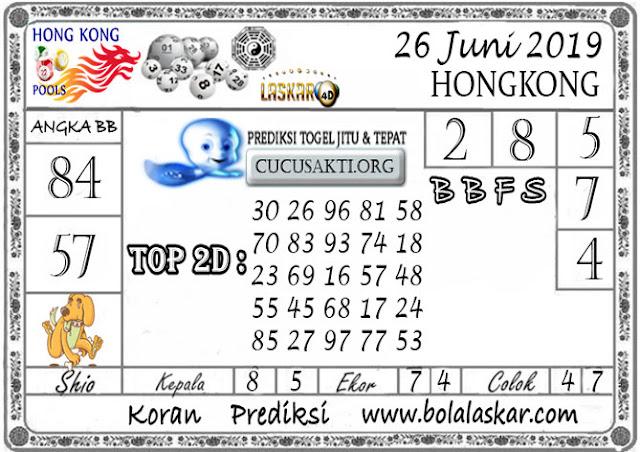 Prediksi Togel HONGKONG LASKAR4D 26 JUNI 2019