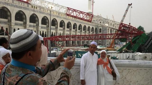Pengadilan Saudi Putuskan Korban Crane Mekkah Tidak Dapat Uang Kompensasi