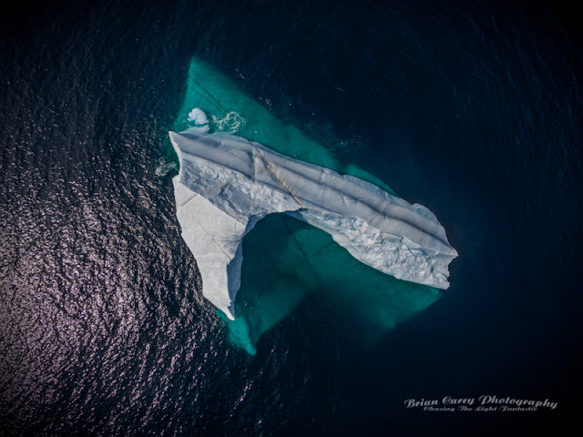 Aerial View - Tip of the Iceberg by Brian Carey