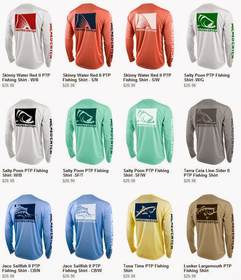 Wicked Catch Fishing Apparel