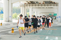 Treasure 13 Participate in  Miracle Marathon with Sean
