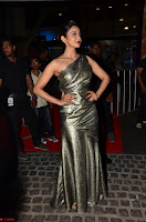 Rakul Preet Singh in Shining Glittering Golden Half Shoulder Gown at 64th Jio Filmfare Awards South ~  Exclusive 015.JPG