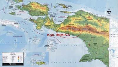 map Papua