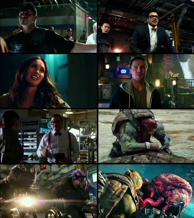 Teenage Mutant Ninja Turtles Out of the Shadows 2016 English 720p WEB-DL