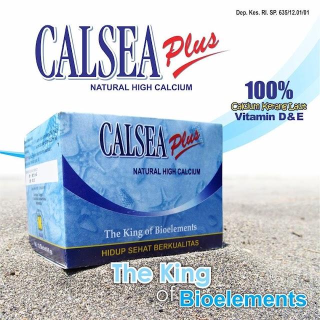 CALSEA PLUS - Natural High Calcium Untuk Memenuhi Kebutuhan Kalsium Anda