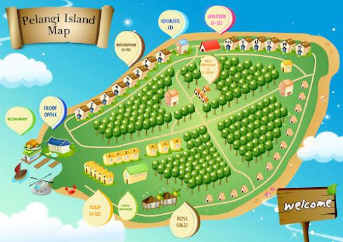 peta pulau pelangi