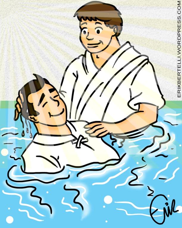 no reino de deus oque é o batismo nas águas parte 1