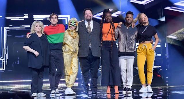 Participantes de la primera semifinal del Melodifestivalen 2018