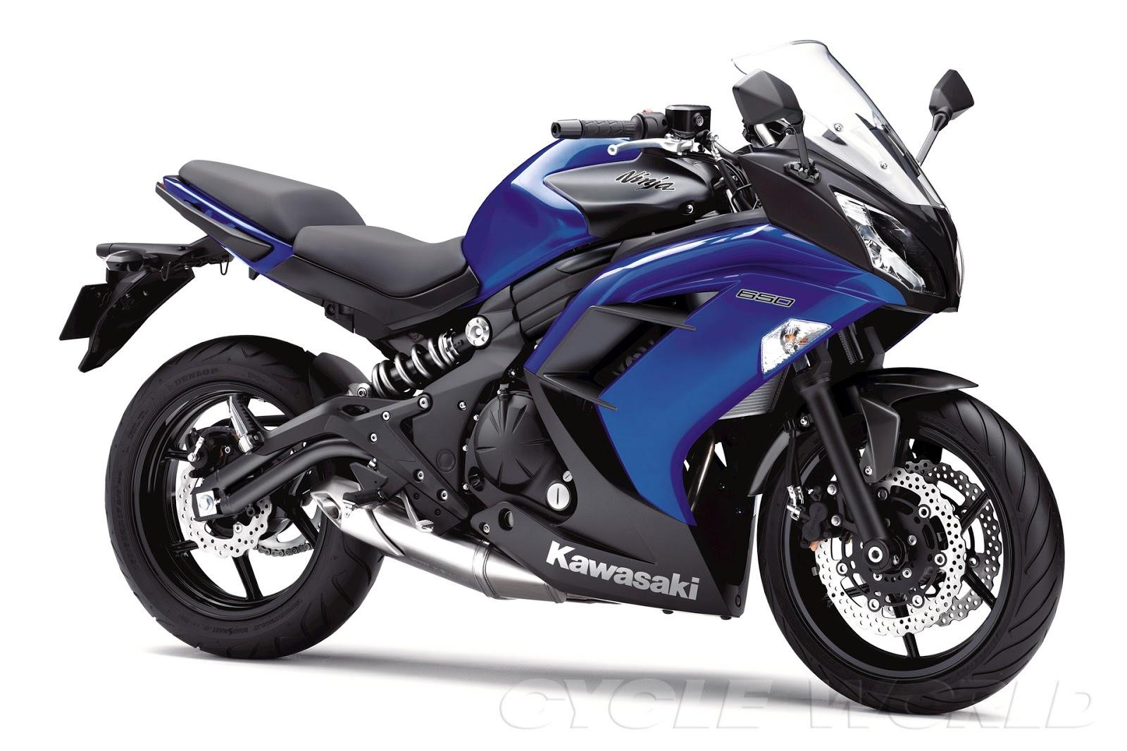 Gambar Motor Kawasaki Ninja 650 2013 Terbaru