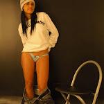 Andrea Rincon, Selena Spice Galeria 19: Buso Blanco y Jean Negro, Estilo Rapero Foto 69