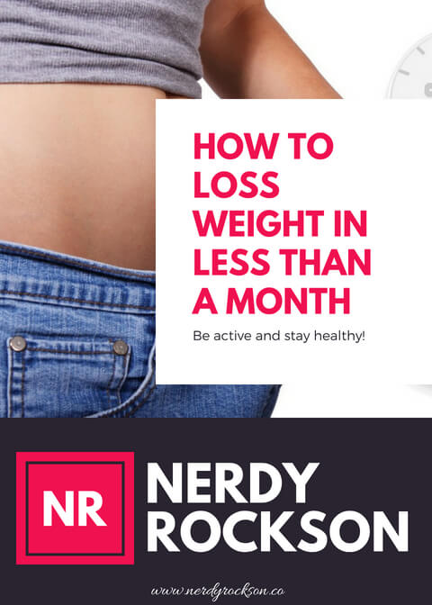 How To Loss Weight In Less Than A Month