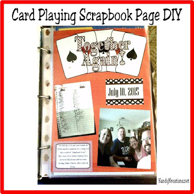 Enjoy playing cards with your friends and in your memories with this card game scrapbook page DIY. You can scrapbook with me your favorite memories in this fast video and the free journaling cards.