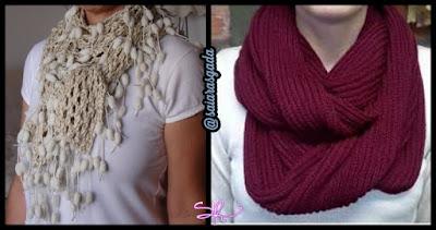 cachecol feminino gola feminina mulher inverno lindo quente fofo elegante trico tricot croche lã barbante babado cascata cheio vinho diferente