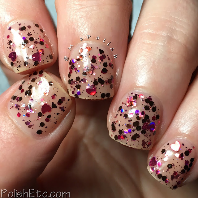 Whimsical Ideas by Pam - Whimsical Valentines 2018 - McPolish - Ben and Cherries