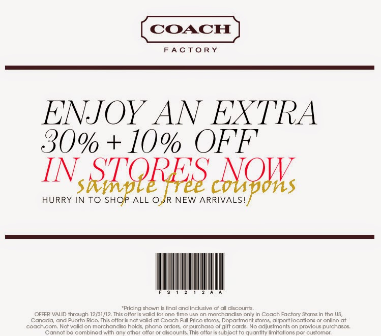 coach outlet coupon  july