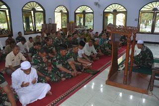 Sambut Hari Jadinya Ke-57 Korem 071/Wk, Prajurit Wijayakusuma Doa Bersama